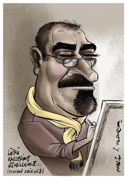 Halil İbrahim YILDIRIM'dan Lütfü Çakın Portresi