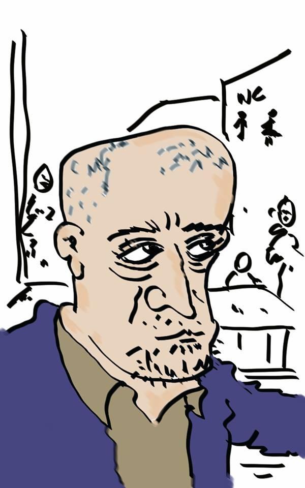 Tablet üzerine Ozan Çavdar çizdi.