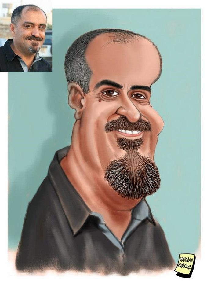 Çorumlu Dostum Erdoğan Oruç 'tan Lütfü Çakın Portresi
