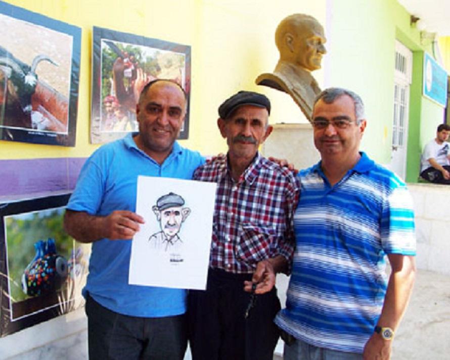 Kuyucular köyünden Nejat Amca,Lütfü Çakın,Mustafa Yıldız