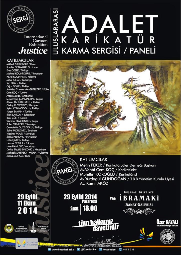 Adalet_ve_Karikatur_Sergi_Panel_Poster