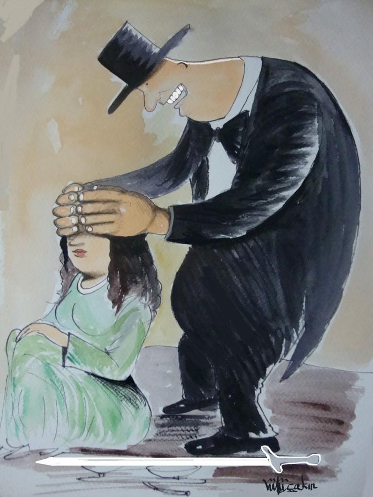 Sergideki Karikatürüm