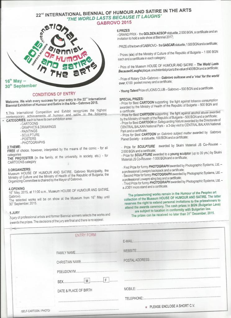 katılım formu gobrovo