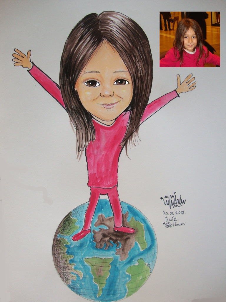 Çocuk karikatürü