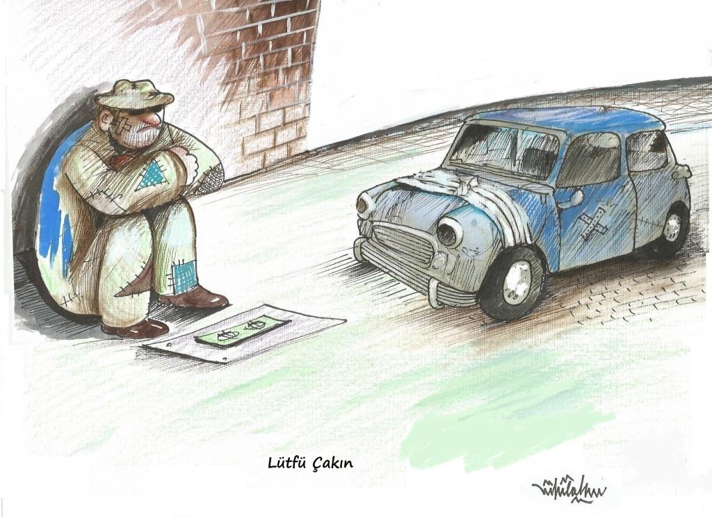 2014 yılında albüme giren karikatürüm.