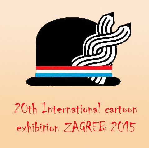 cartoon exhibition ZAGREB 2015