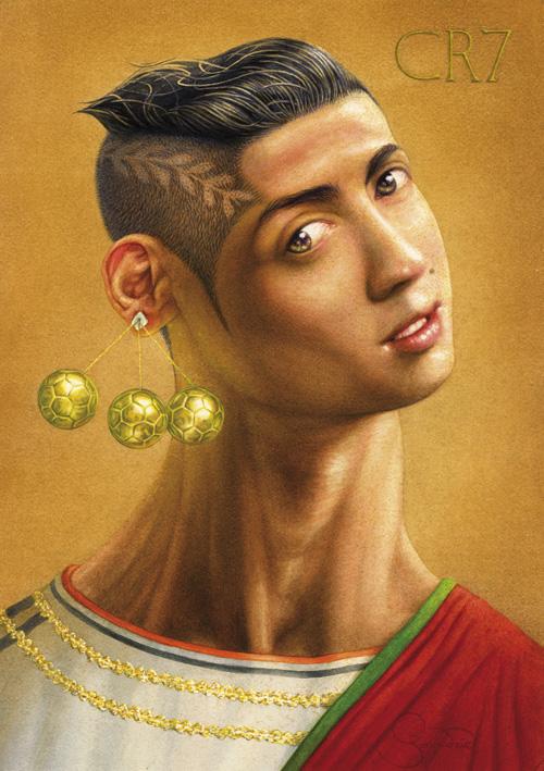 ronaldo portresi