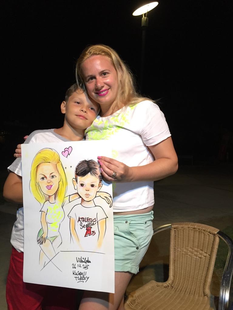 Romanyalı anne ve oğul