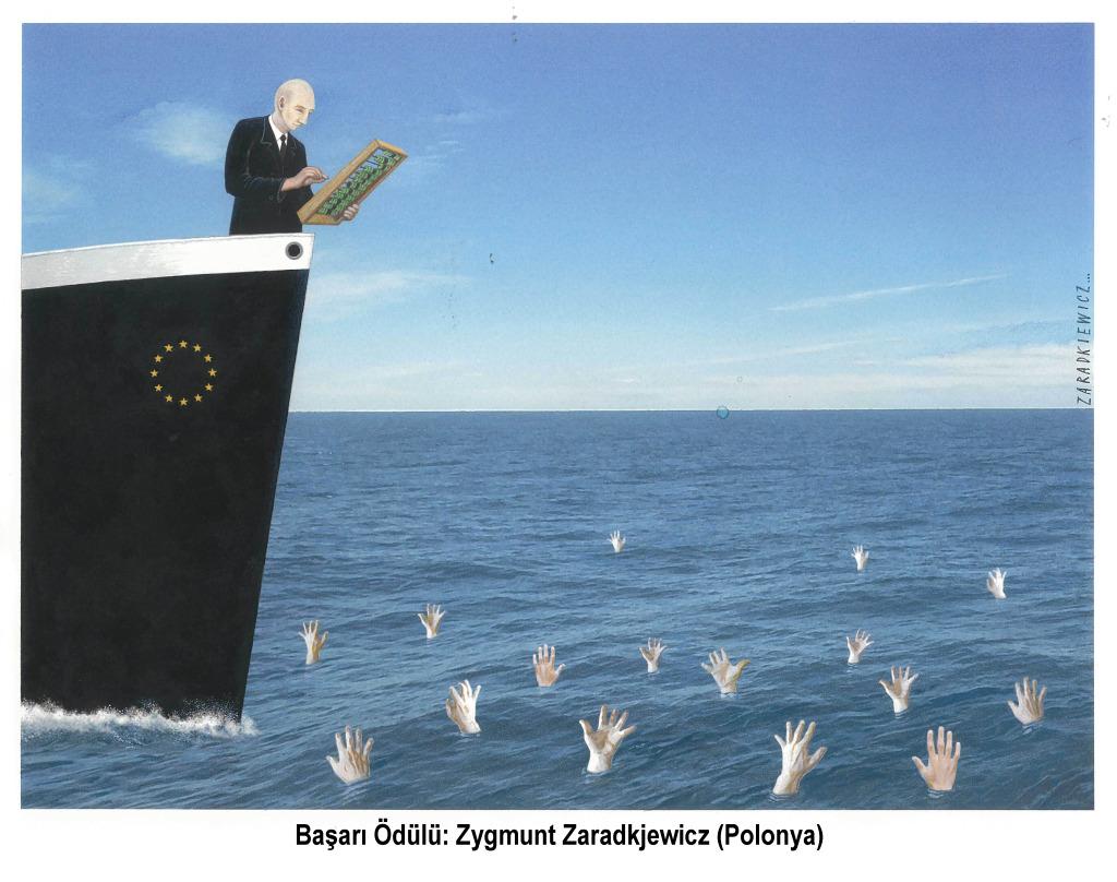 Zygmunt Zaradkiewcz Polonya/Poland Başarı Ödülü /Honour Price