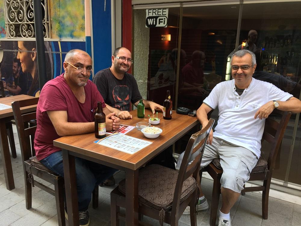 Lütfü Çakın ,Tuncay Erol,Mustafa Yıldız