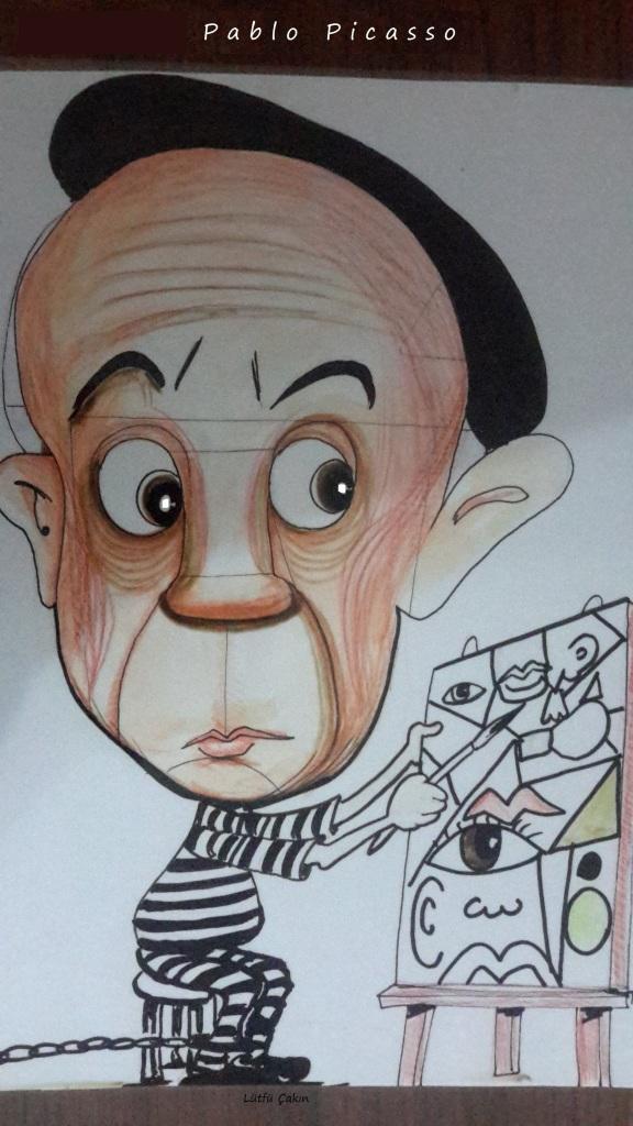 pablo picasso Dünyaca ünlü Ressam