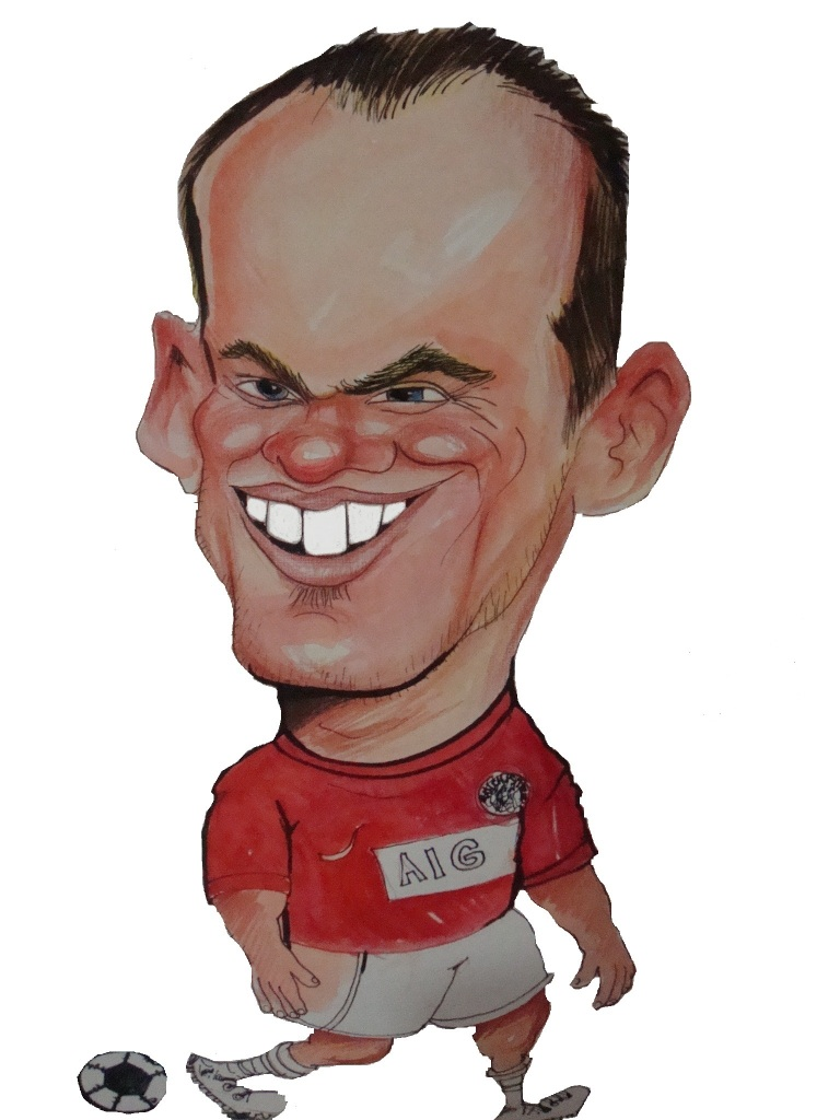 Rooney İngiliz futbolcu