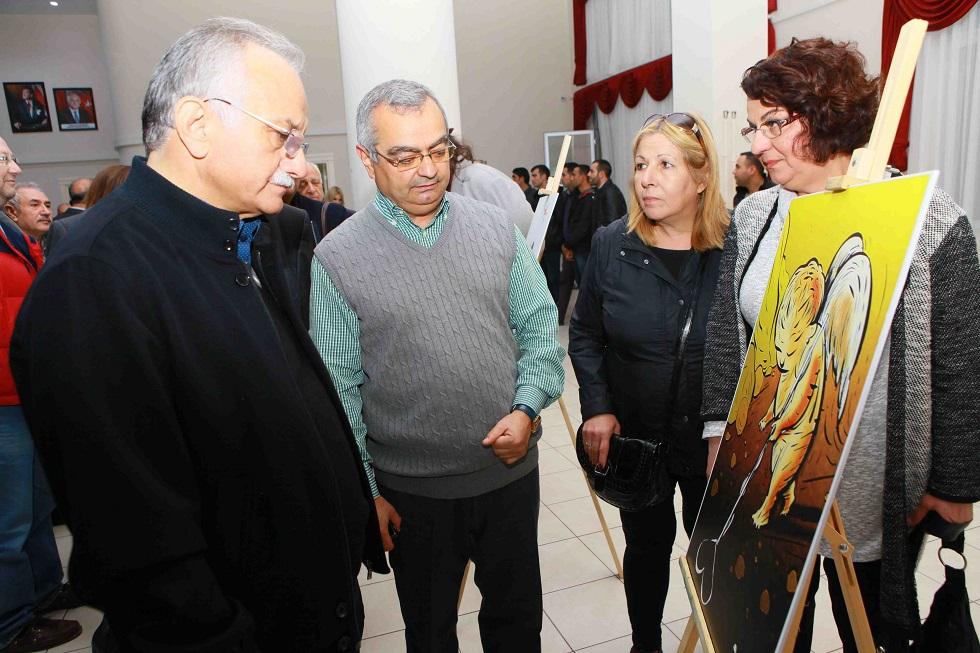 Mustafa Yıldız ve Bayraklı Belediye Başkanı  Hasan Karabağ