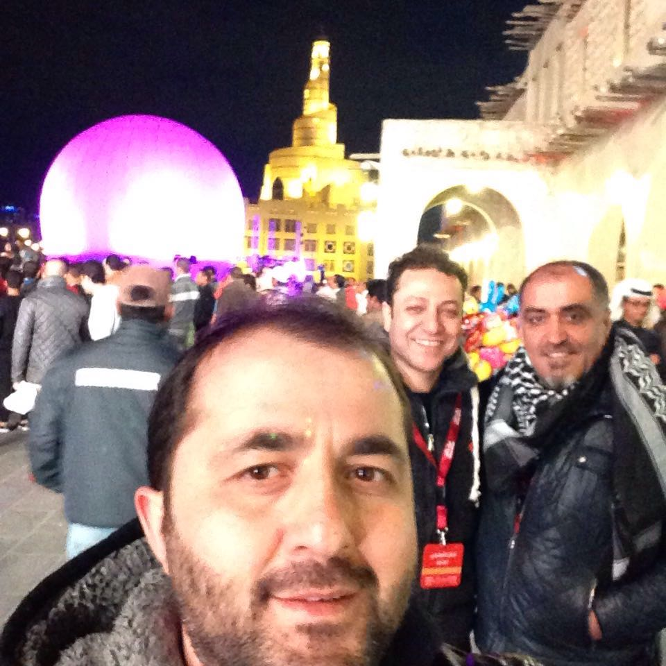 Doha kentinin en güzel manzara selfisi