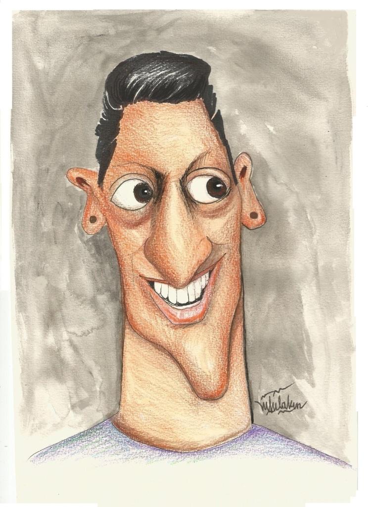 Ünlü Futbolcu Mesut Özil