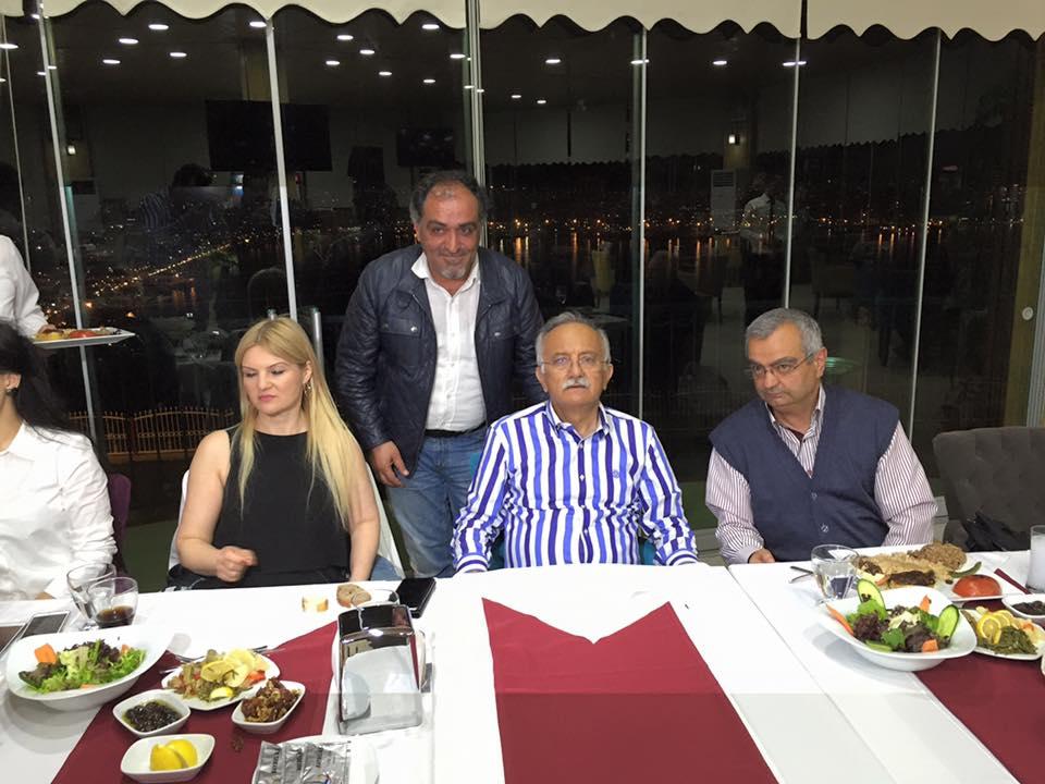 Bayraklı Belediye Başkanı Hasan Karabağ Lütfü Çakın Mustafa Yıldız