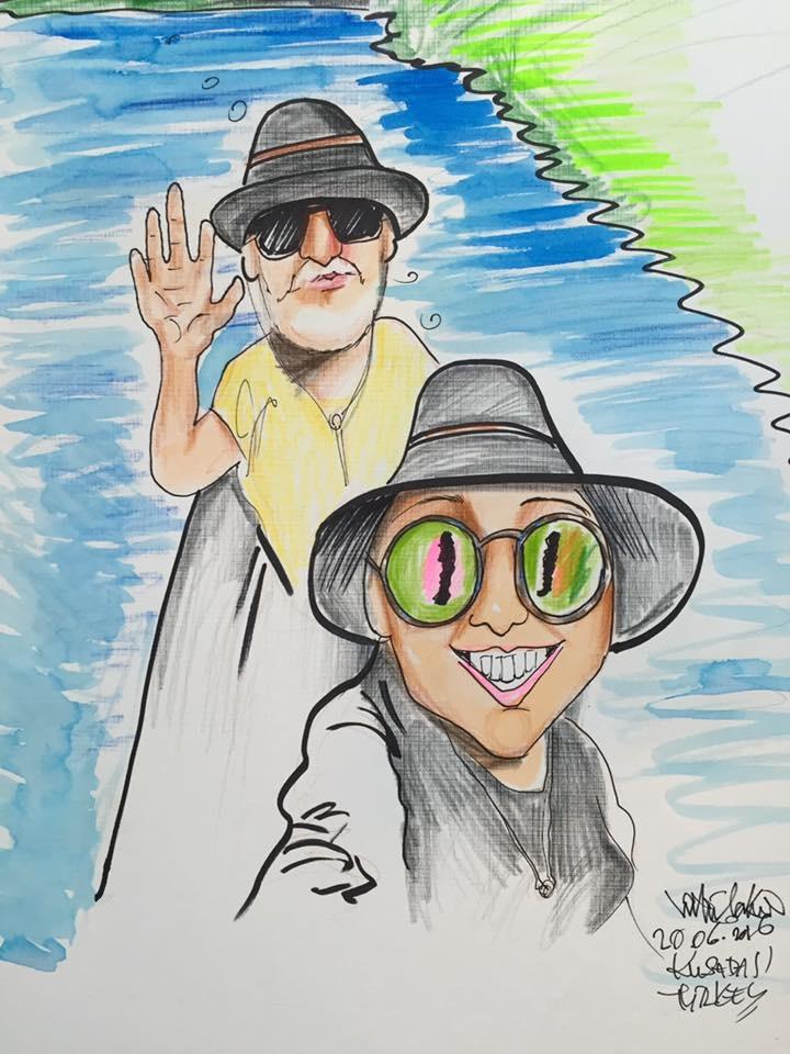 Fotonun karikatürü