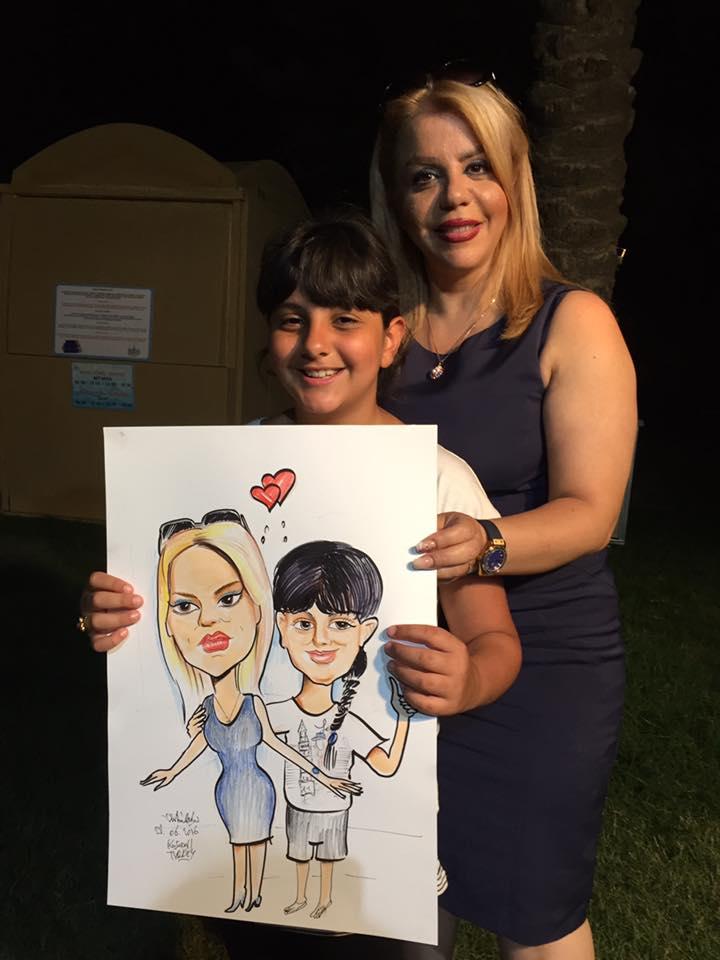 İranlı Anne ve kız