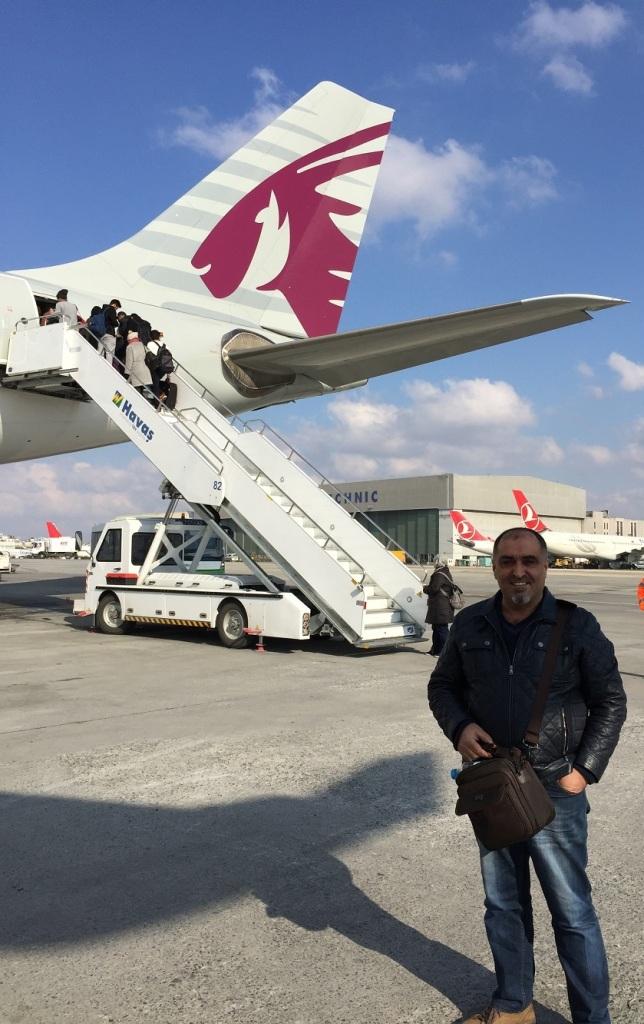 Qatar yolcusu