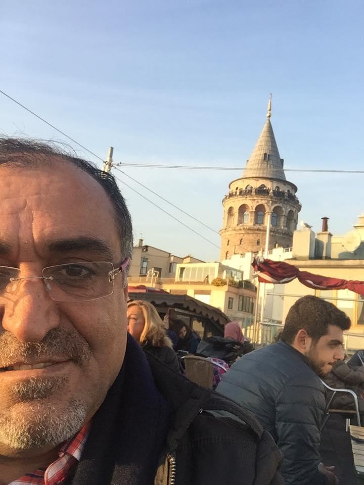 İstanbul ve Ben  Galat kulesi