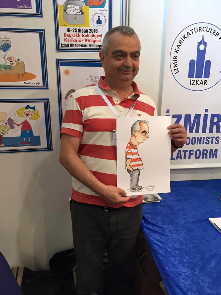 Karikatürist Mustafa Yıldız