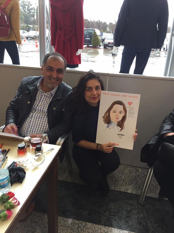 İstanbul'dan gelen değerli hanımefendi konuğumuz