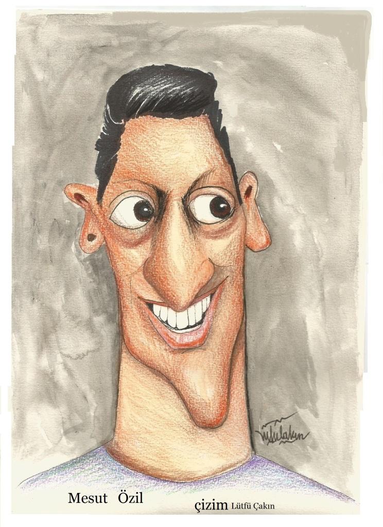 Futbolcu Mesut Özil