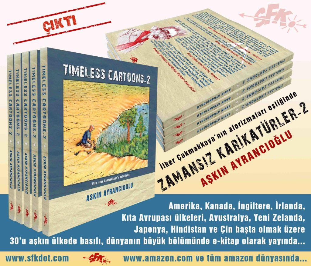 Aşkın Ayrancıoğlu  Kitabı çıktı.