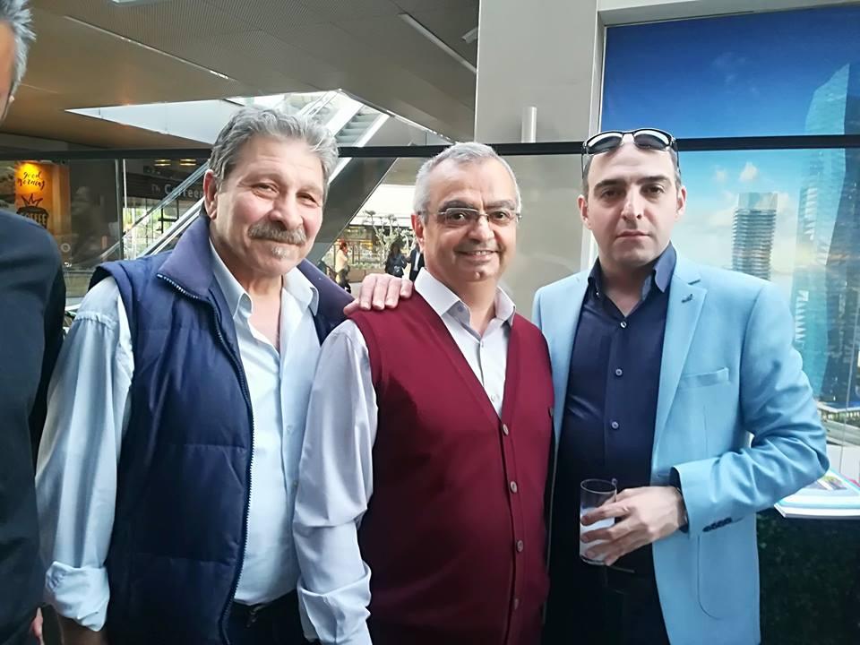 Turan İyigün Mustafa Yıldız Seyed Ali Miraee