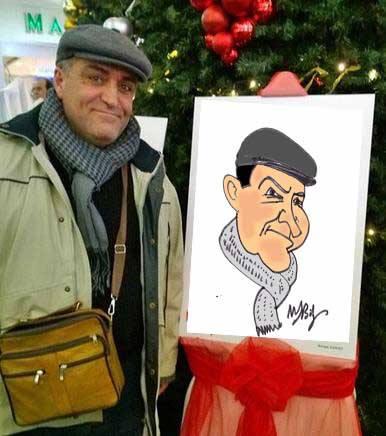 Mehmet Saim Bilge  çizdi.