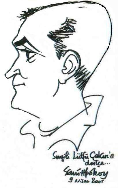 Semih Poroy çizimi